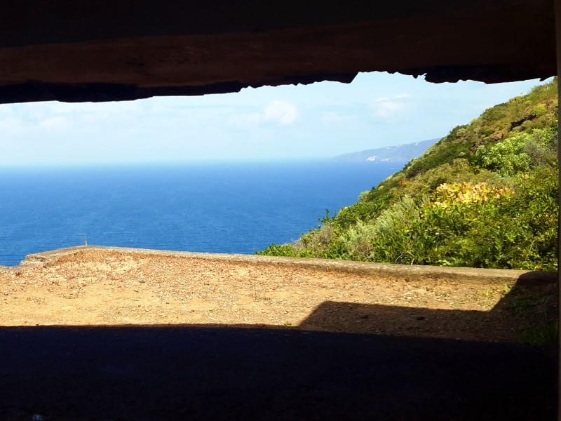 Ausblick aus dem unteren Bunker