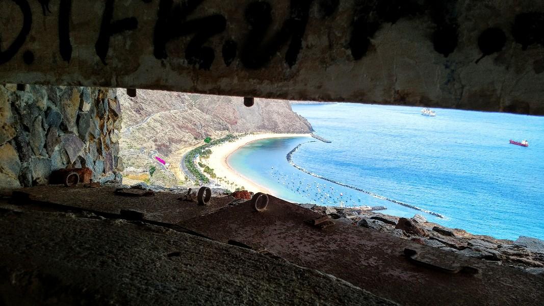 Ausblick im oberen Aussichtsbunker