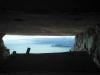Ausblick im mittleren Aussichtsbunker