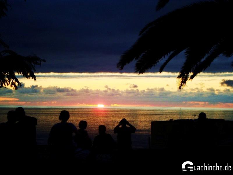 Sonnenuntergang in San Telmo