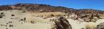 Wüstenlandschaft auf dem Teide