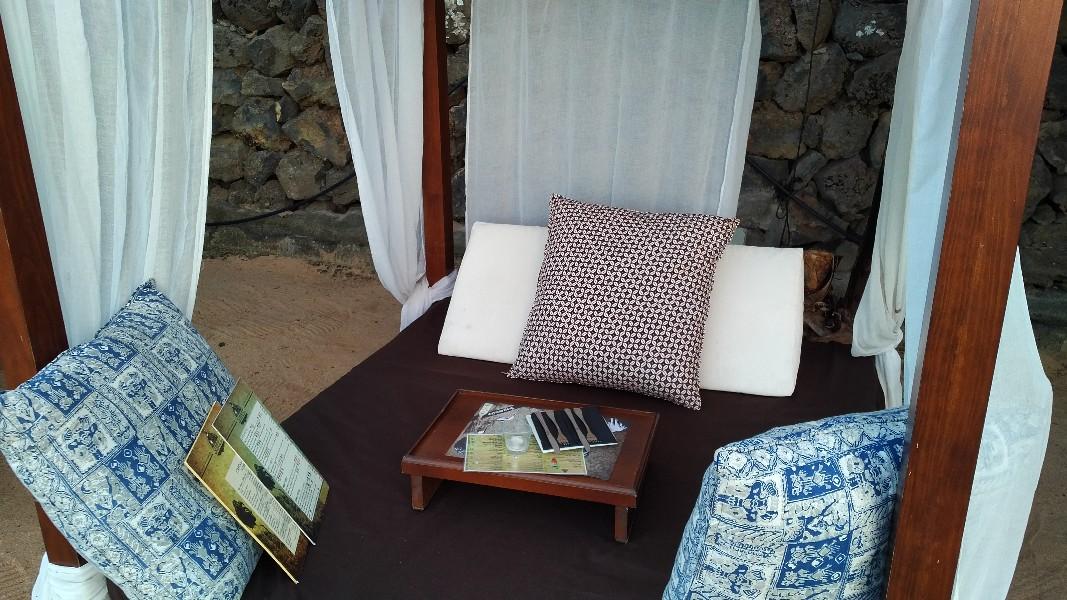 Betten im Sand