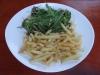 Rinderfilet mit Ruccola und Parmesan