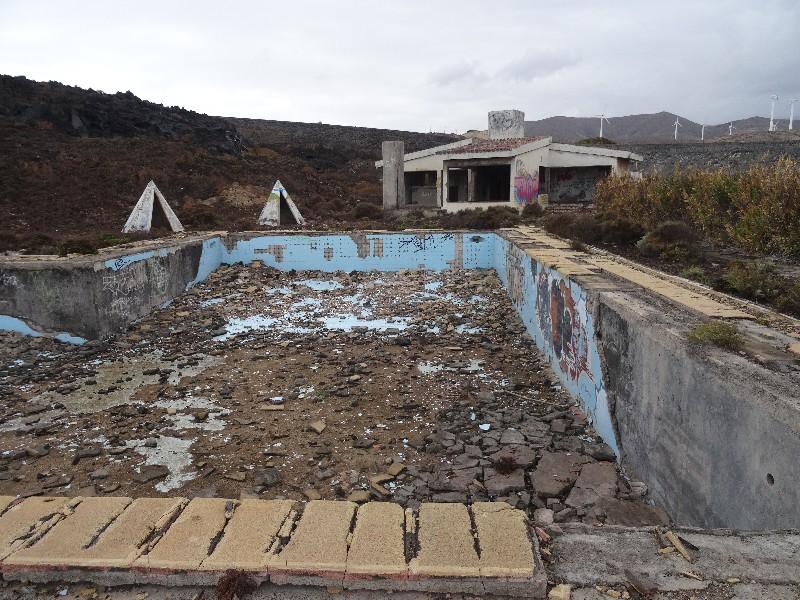 Die nahegelegene Ruine