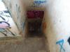 Abstieg in den unteren Bunker