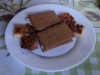 Mandelgebäck und gefüllte Kekse